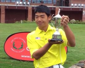 Bryan Teoh Trophy Photo